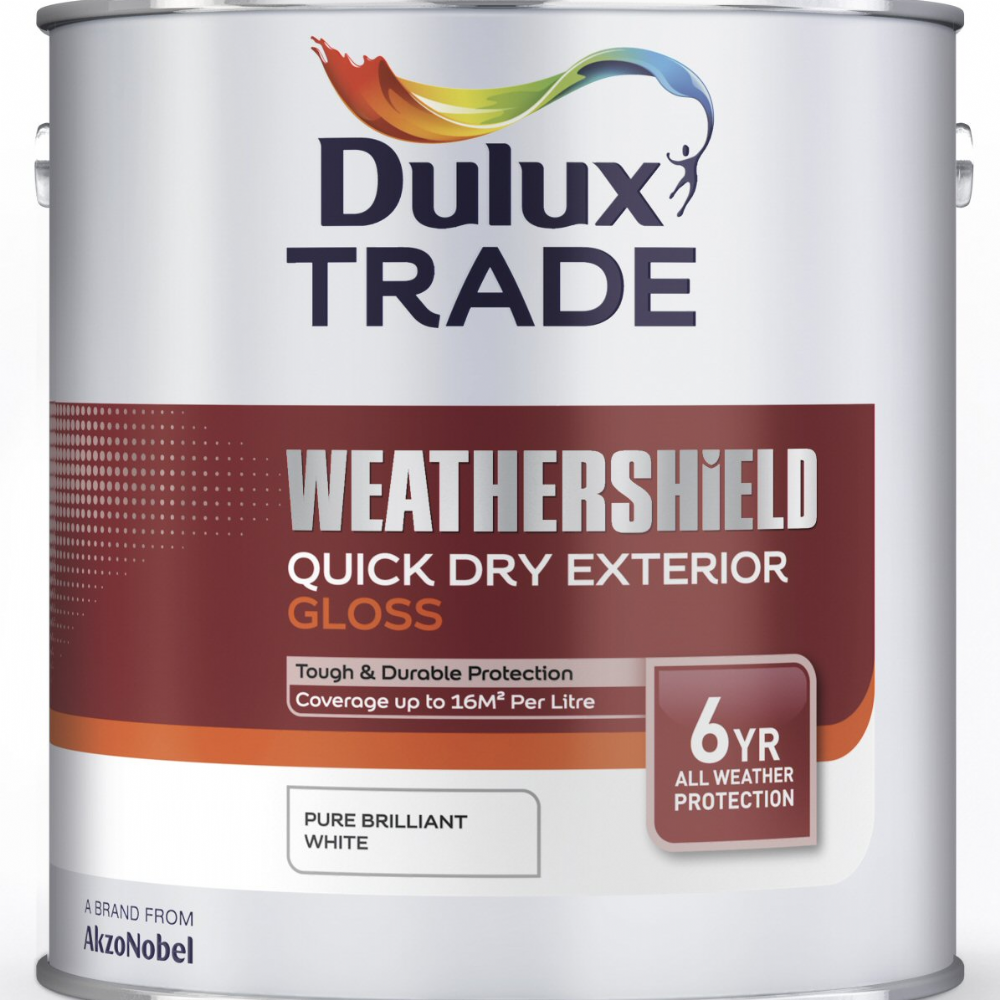 Dulux Trade Weathershield Quick Dry Exterior Gloss Custom Mixed Colours